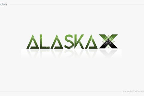 Logo Design: AlaskaX Excursions