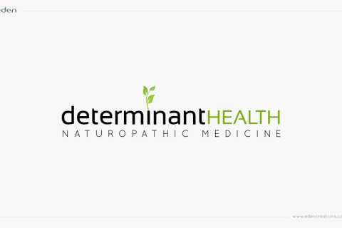 Logo Design: Determinant Health Naturopathic