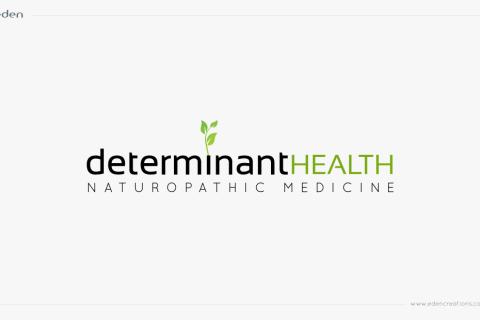 Logo Design: Determinant Health Naturopathic