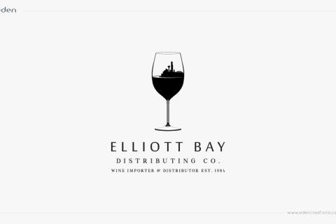 Logo Design: Elliot Bay Distributing Co.
