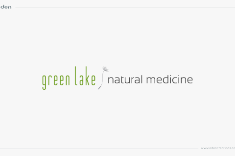 Logo Design: Green Lake Natural Medicine