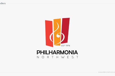 Logo Design: Philharmonia Northwest